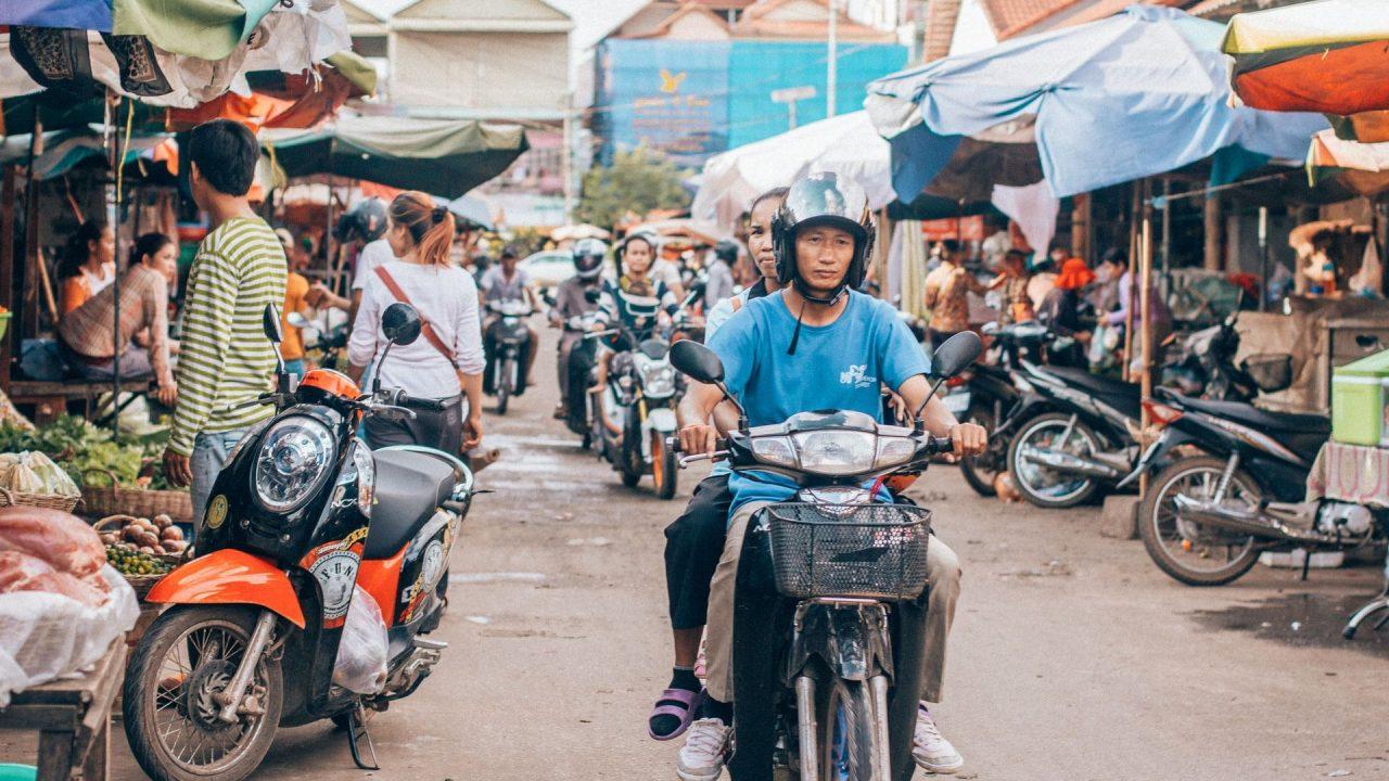 Cambodian trader